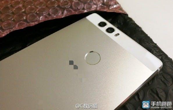 So soll die Rückseite des Huawei P9 aussehen. (Foto: Mobile-Dad)