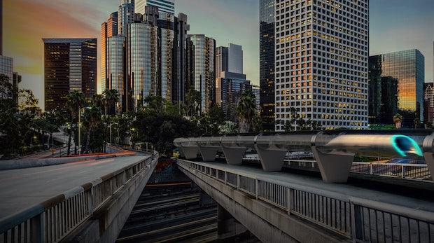 Reisen im Hyperloop: So könnte das aussehen