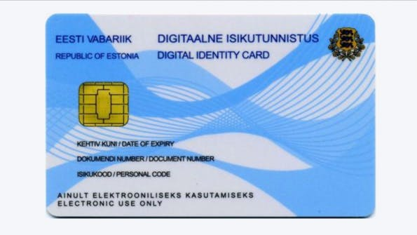 Die digitale ID-Card für e-Residents. (Screenshot: e-estonia.com)