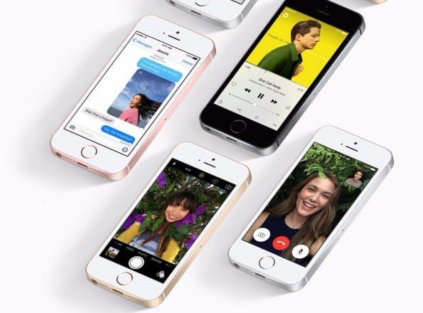 Das iPhone SE ist gewissermaßen ein iPhone 5s mit 6s-Technik. (Bild: Apple)