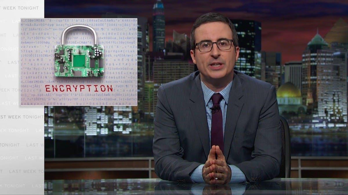 John Oliver erklärt die Apple-Verschlüsselungs-Debatte