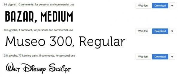 Die Suchfunktionen bei Abstract Fonts sind vorbildlich. (Bild: Abstract Fonts)