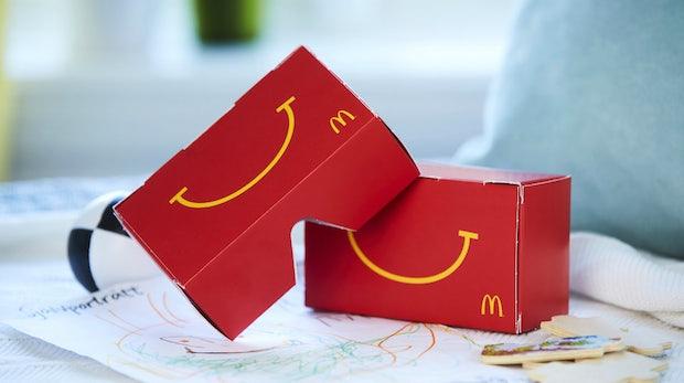 Marketing-Stunt: McDonalds verwandelt seine Happy-Meal-Boxen in VR-Brillen