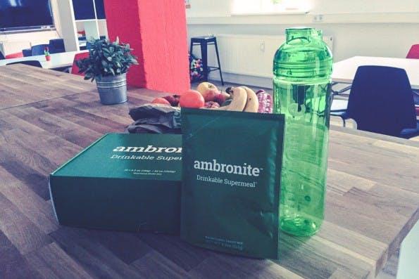 Eine der Soylent-Alternativen kommt aus Finnland: Ambronite. (Foto: t3n)