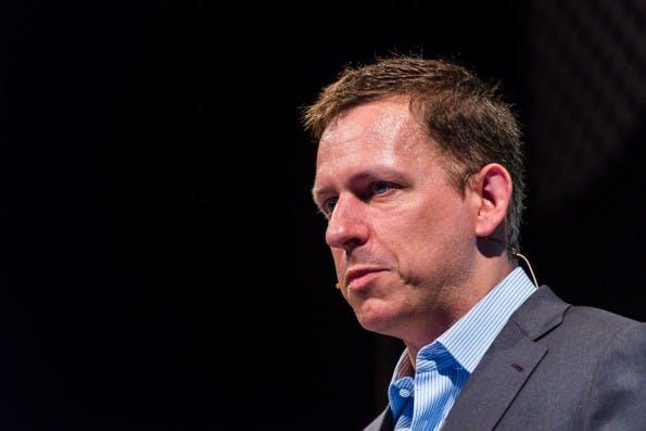 Star-Investor Peter Thiel. #FLICKR#