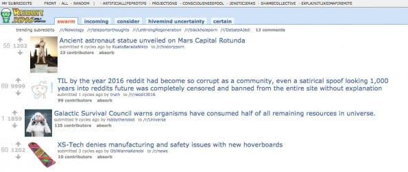 Reddit3016: Diese Parodie zeigt dir, was in 1.000 Jahren trendet. (Screenshot: Reddit3016)