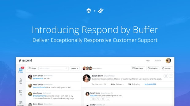 Buffer kann jetzt auch Kunden-Service und Social-Media-Monitoring