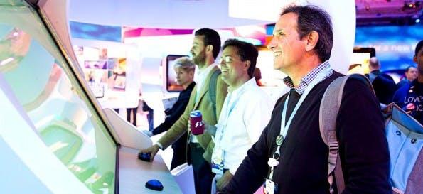 Auch Salesforce ist mit einer eigenen Konferenz auf der CeBIT 2016. (Foto: Salesforce)