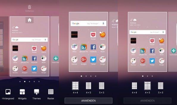 Mehr Apps auf den Homescreen packen ist kein Hexenwerk. (Screenshots: t3n)