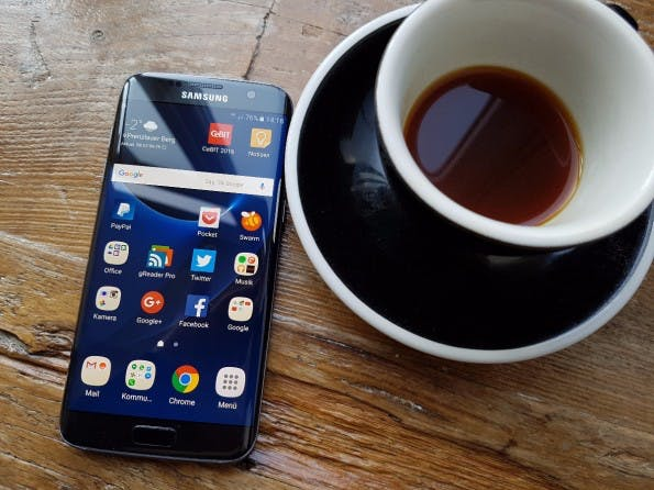 Das Samsung Galaxy S7 edge. (Foto: t3n)