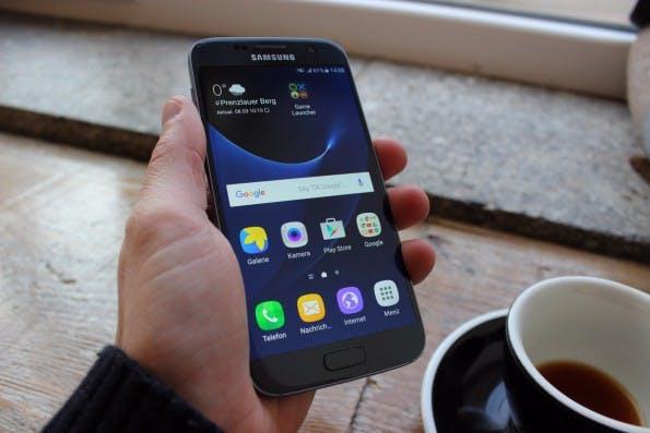 Die Touchwiz-Benutzeroberfläche des Galaxy S7 (edge) ist übersichtlicher geworden. (Foto: t3n)