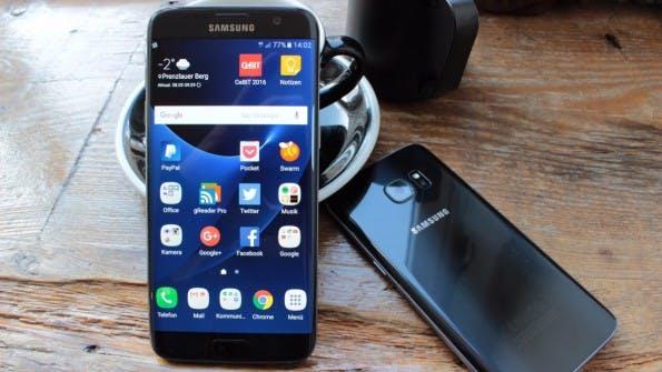 Samsung Galaxy S7 edge und S7. (Foto: t3n)