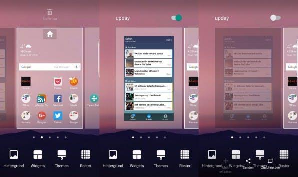 Wer die News-App upday nicht benötigt, kann sie einfach abschalten. (Screenshot: t3n)
