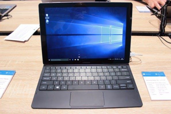 Schlankes Windows-10-Tablet: das Samsung TabPro S. (Foto: t3n)