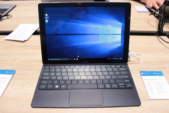 Schlankes Windows-10-Tablet: das Samsung TabPro S. (Foto: t3n)