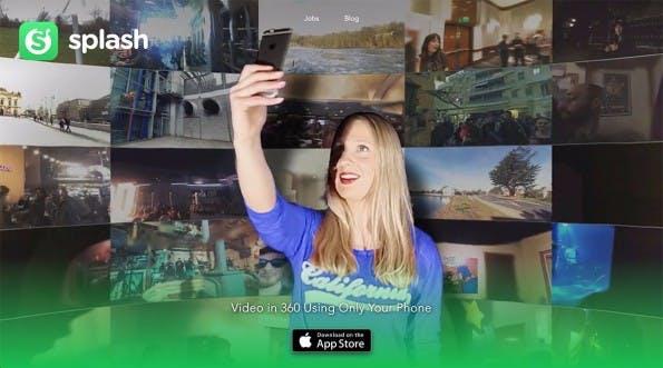 Splash: 360°-Videos mit dem iPhone aufnehmen – ohne Spezialkamera. (Screenshot: getsplashapp.com)