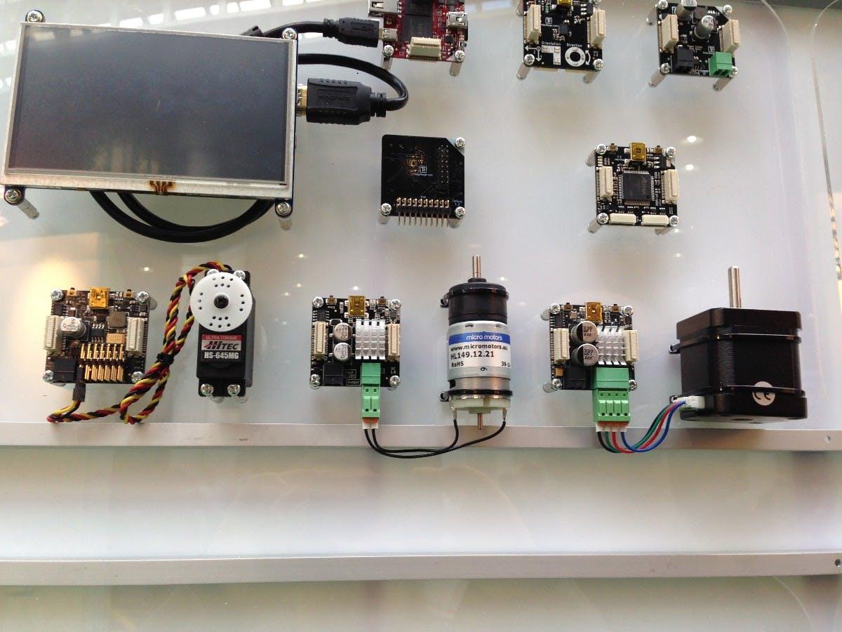 In der unteren Reihe finden sich verschiedene  Motoren-Typen. (Foto: t3n)