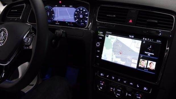 e-Golf Touch: Das kann VWs neues modulares Infotainment-System