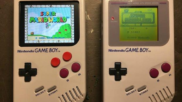 Der beste Game Boy aller Zeiten: Raspberry Pi Zero erweckt den Klassiker zu neuem Leben