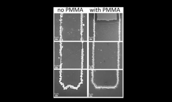 Akkus aus Gold-Nanodrähten und Gel halten deutlich länger durch. (Screenshot: YouTube/UCI)