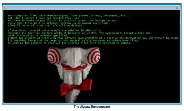 Jigsaw-Ransomware: Tool hilft gegen fiese Erpressungsmasche. (Screenshot: BleepingComputer)