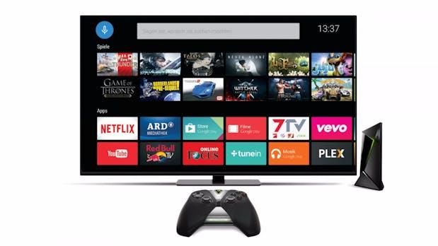 Kleine, kräftige Set-Top-Box: Das kann Nvidias Shield Android TV