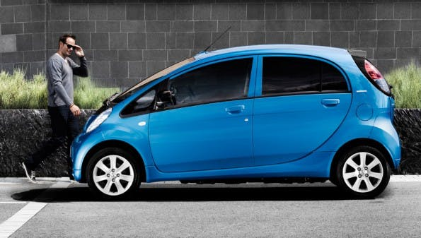 Relativ günstiges Elektroauto: seit September 2015 ist der Peugeot iOn ab 17.850 Euro zu haben. (Foto: Peugeot)