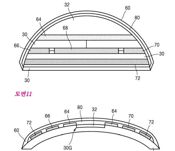 Samsung-Patent: Intelligente Kontaktlinse mit Kamera. (Grafik: Samsung/Kipris)