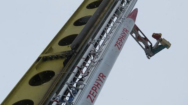 Zephyr: Wie Bremer Studenten eine Kerzenwachs-Rakete in 1.500 Meter Höhe schossen