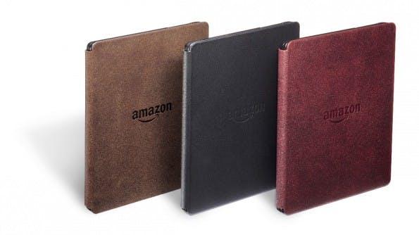 Die Cover des Amazon Kindle Oasis. (Foto: Amazon)