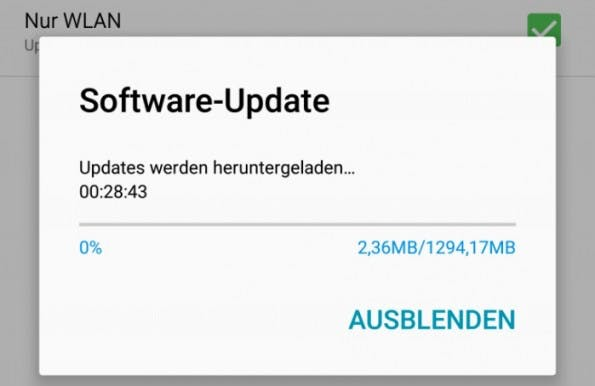 Android 6.0.1 Marshmallow für das Samsung Galaxy Note 4 landet in Deutschland. (Screenshot All about Samsung)