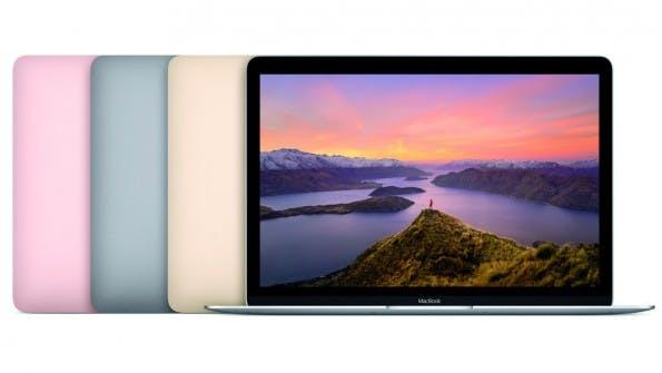 Der derzeit einzige aktuelle macOS-Rechner: das Macbook (Bild: Apple)