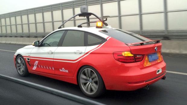 Entwicklung im Silicon Valley: Das nächste selbstfahrende Auto kommt von Chinas Internetriesen Baidu