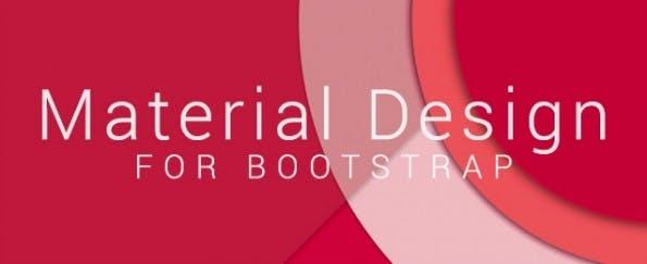 Material Design für Bootstrap. (Screenshot: Material-Design-Theme)