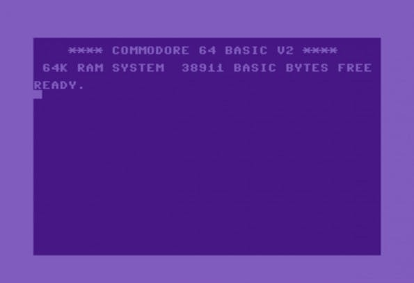 C64 im Browser: Der JavaScript-basierte Emulator macht es möglich. (Screenshot: c64js.com)