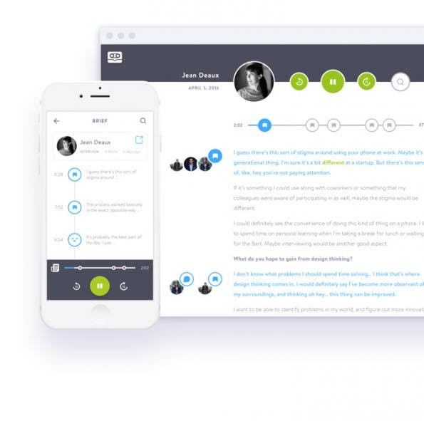 Hilfsmittel fürs UX-Design: Cassette hilft bei der Durchführung von Nutzer-Interviews. (Screenshot: Cassette)