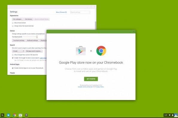 Chrome OS meets Android. (Bild: InauspiciousPagan)