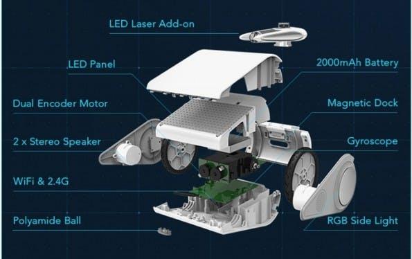 Codeybot: Der Umgang mit dem Roboter soll Spaß machen und zugleich Lehrreich sein. (Grafik: Makeblock)