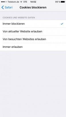 (Screenshot: iOS)