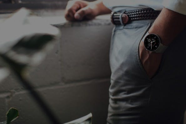 CoWatch: Smartwatch mit Alexa-Support. (Foto: iMCO)
