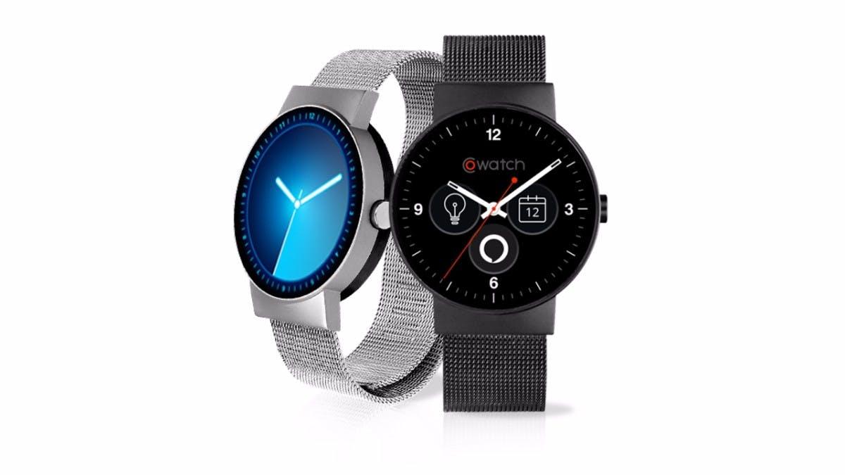 Die Cowatch wird in Schwarz und Silber angeboten. (Bild: iMCO)