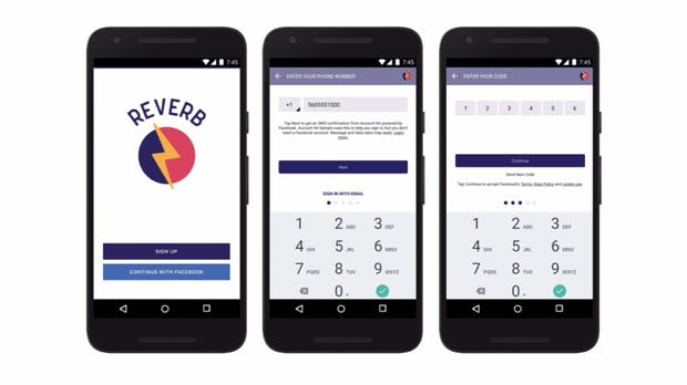 Telefonnummer genügt: Facebook schafft mit Account Kit Passwörter ab