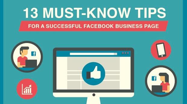 Diese Infografik erklärt dir alles, was du für eine erfolgreiche Facebook-Page wissen musst