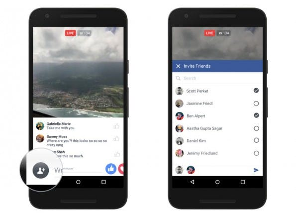 Facebook startet Live-Video – Nutzer können jetzt Streams aufsetzen. (Grafik: Facebook)