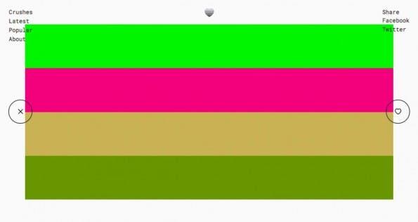 """Mit """"Color Crush"""" können Designer Farben schnell und einfach im Browser vergleichen. (Screenshot: t3n.de)"""