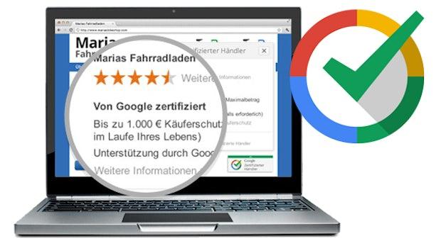 """Was das Google-Siegel """"Zertifizierte Händler"""" Shopbetreibern und Kunden bringt"""