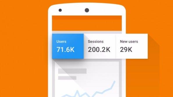 Auch in Google Analytics 3.0 bleibt dir dominierende Farbe Orange. (Bild: Google)
