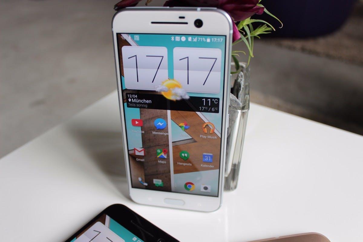 HTC 10 Hands-On. (Foto. t3n)