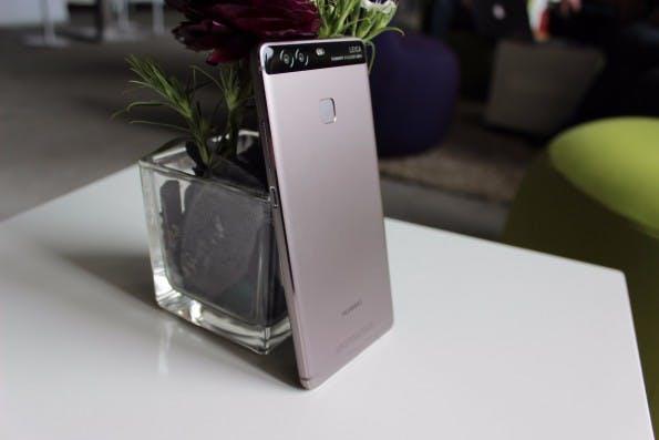 Das Huawei P9 Plus, das 5,5-Zoll-Modell des P9, besitzt einen drucksensitiven Touchscreen. (Foto: t3n)