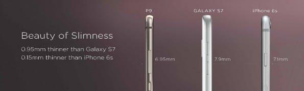 Huawei P9. (Bild: Huawei)